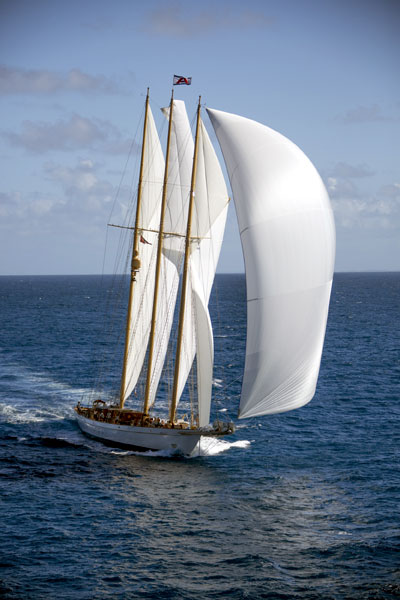 ADIX Sails made from Modern Technology but Traditional Apperance By Lidgard